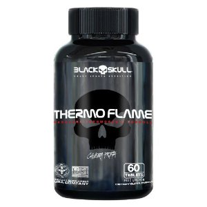 Thermo Flame 60 Caps - Termogênico Black Skull