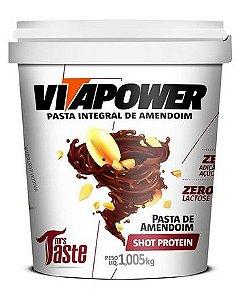 Pasta de amendoim integral  (VÁRIOS SABORES)- VITAPOWER