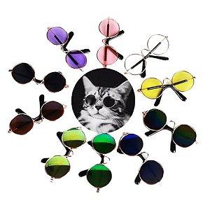 ÓCULOS DE SOL PET, Gatos e Cachorros Pequenos