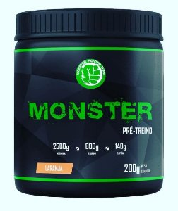 Monster Pré-Treino (200g) - Monster Fighter Team
