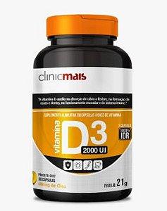 Vitamina D3 (30 caps) - CLINICMAIS