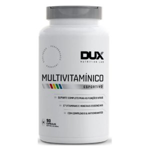 MULTIVITAMÍNICO, Dux Nutrition Lab, 90 Caps.