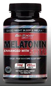 Melatonina (3mg com 5htp) - BIO SPORT