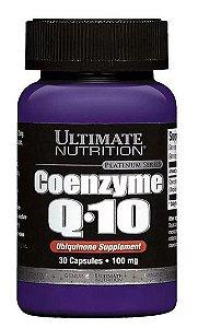 COENZYME Q-10 - COENZIMA (30 Caps.) - ULTIMATE NUTRITION q10