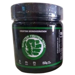 CREATINA MONOHIDRATADA, Monster Fighter Team, 150g