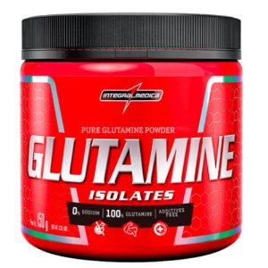 GLUTAMINE ISOLATES, IntegralMedica, Glutamina, 150g