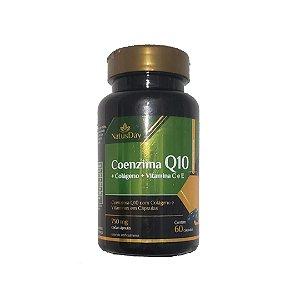 Coenzima Q10 + colágeno + vitamina C e E (60 caps.) - NatusDay