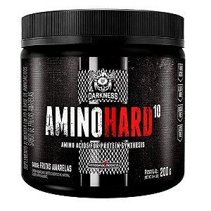 AMINOHARD Darkness, aminoácidos com glutamina, 200g, IntegralMedica