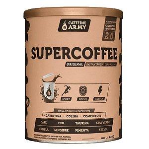 SUPERCOFFEE 2.0, Caffeine Army, Sabor tradicional, 380g e 220g
