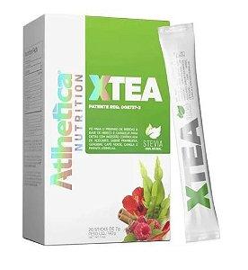 XTEA Chá Diurético - 20 Sticks de 7g - ATLHETICA NUTRITION