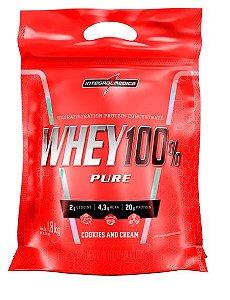 Whey 100% Pure (1,8Kg - SACO) Integralmédica WPC
