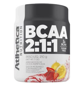 BCAA 2:1:1, Atlhetica Nutrition, 210g