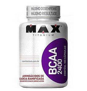 BCAA 2400, Max Titanium, 100 cáps.