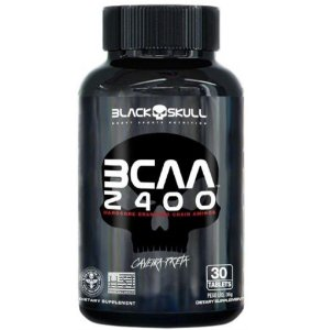 BCAA 2400, Black Skull, 30 Tablets, 2:1:1
