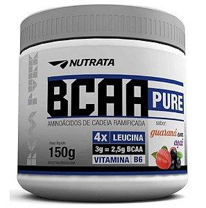 BCAA Pure em pó, Nutrata, 150g