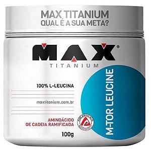 M-TOR LEUCINE, Max Titanium, Leucina, 100g