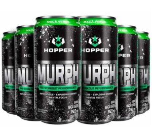 MURPH Energético Lata, Hopper Nutrition, PACK de 6 latas - 289ml