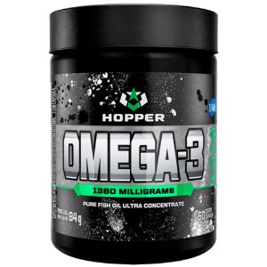 ÔMEGA 3, Hopper Nutrition, 60 Cápsulas, 1380 miligramas