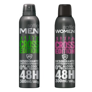 DESODORANTE CROSS EDITION 48H, Soffie, 300ml, Crossfit