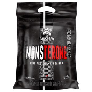 Monsterone Darkness, IntegralMedica, Hipercalórico com TCM, 3kg