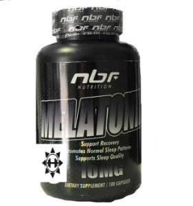 MELATONIN - Melatonina - 10MG - 100 Caps. - NBF NUTRITION