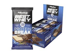 BEST WHEY PROTEIN BREAK,  Atlhetica Nutrition, 12 un. de 25g