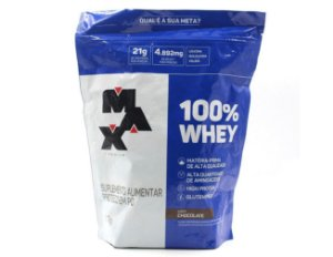 Whey 100%, REFIL, Max Titanium, 900g