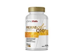 REJUVECEL, Coenzima Q10 e Semente de Uva, ClinicMais, 30 Caps.
