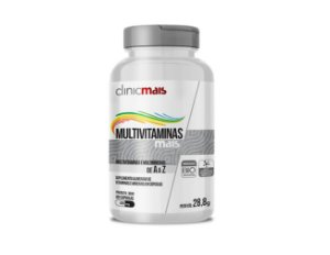 MULTIVITAMINAS mais A a Z, ClinicMais, 60 Caps.