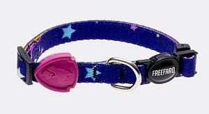 Coleira Freefaro Para Gatos Stars Pink