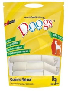 "Osso Doogs Nó Natural 6/7"" 1kg"