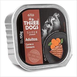 Three Dog Pate Carne/Cenoura 150g