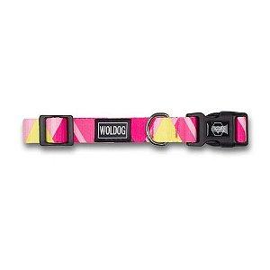 Coleira Woldog Pink Noronha M