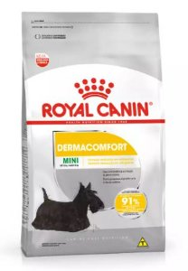 Ração Royal Canin Cao Mini Dermacomfort 7,5kg
