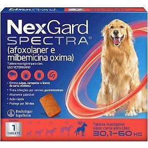 Antipulga NexGard Spectra 30,1 A 60kg Caixa Com 1 Tablete