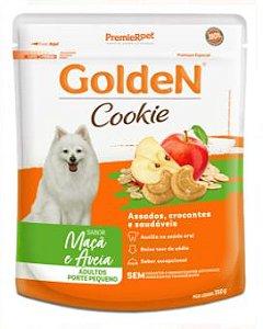 Cookie Golden Cão Adulto Pequeno Porte Maçã e Aveia 350g