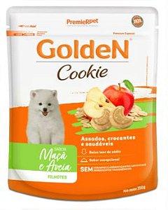 Cookie Golden Cão Filhote Maçã e Aveia 350g