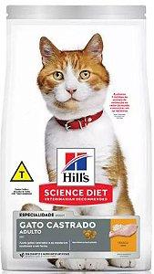 Ração Hill's Science Diet Gato Adulto Castrado Frango 6kg