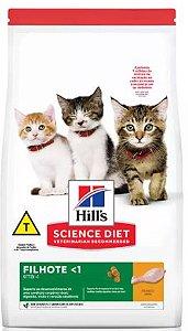 Ração Hill's Science Diet Gato Filhote Crescimento Saudável 1kg