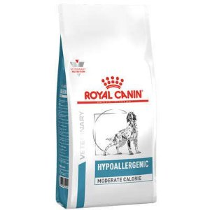 Ração Royal Canin Veterinary Diet Cão Hypoallergenic Moderate Calorie 2kg