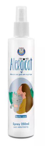 Banho a Seco Alergicat Para Gatos Spray 250ml