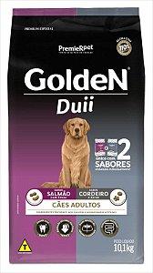 Ração Golden Duii Cão Adulto Salmão E Cordeiro 10kg