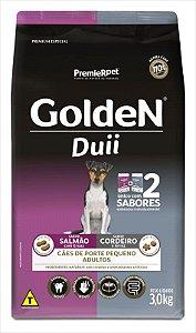 Ração Golden Duii Cão Adulto Pequeno Porte Salmão E Cordeiro 3kg