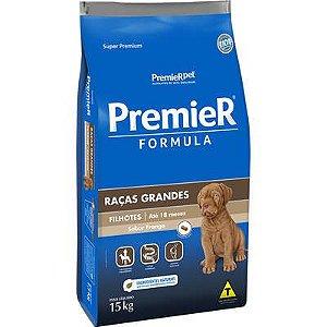 Ração Premier Formula Cão Filhote Raça Grande Frango 15kg