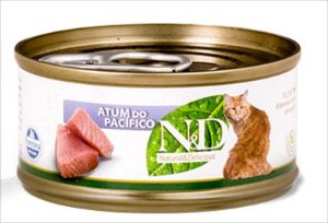 LATA N&D GATO ADULTO ATUM DO PACIFICO 70G