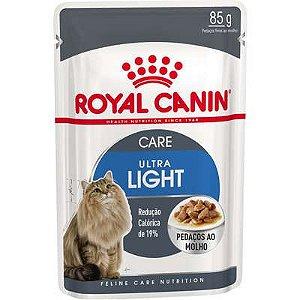 Sachê Royal Canin Gato Adulto Ultra Light 85g