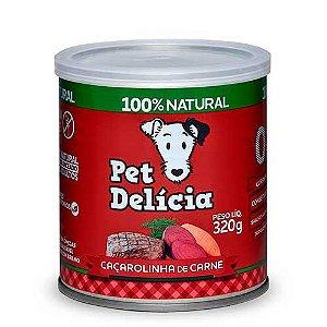 Lata Pet Delicia Cão Adulto Caçarolinha De Carne 320g