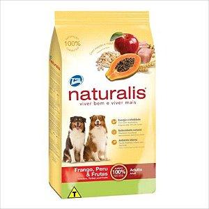 Ração Naturalis Cão Adulto Frango, Peru E Frutas 15kg