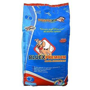 Tapete Higiênico Expet Bluex Premium Com 7 unidades