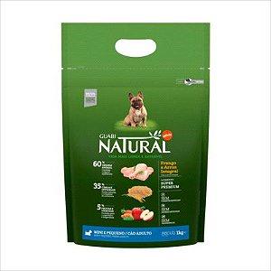 Ração Guabi Natural Cao Adulto Raça Pequena Frango E Arroz 1kg